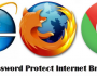 Password Protect Internet Browsers