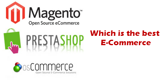 The Best e-Commerce Among Mangento, Prestashop and OSCommerce