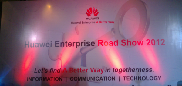 Huawei Enterprice Road Show 2012