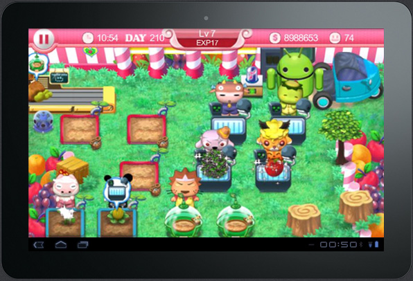 Games in Tablet