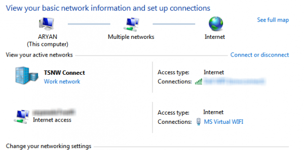 how to create virtual wifi hotspot in windows 7