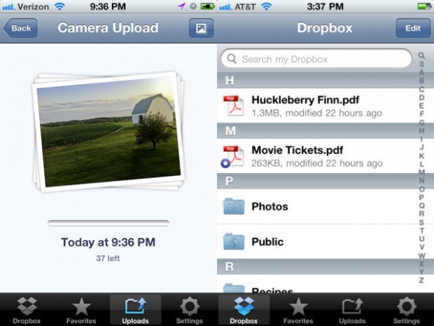 Dropbox for ipod ipad