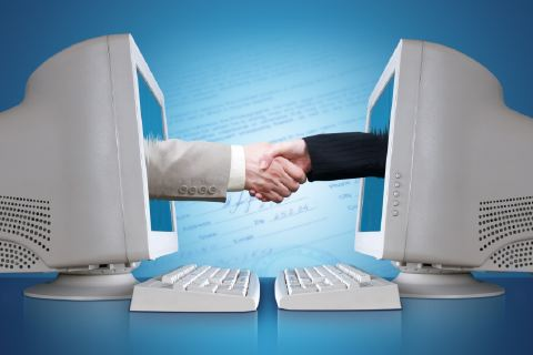 online business Communication