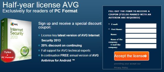 avg internet security 2012 product key